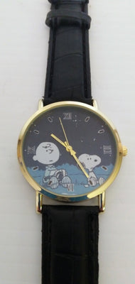 Charlie Brown And Snoopy Men's Quartz Watch-We Got Character