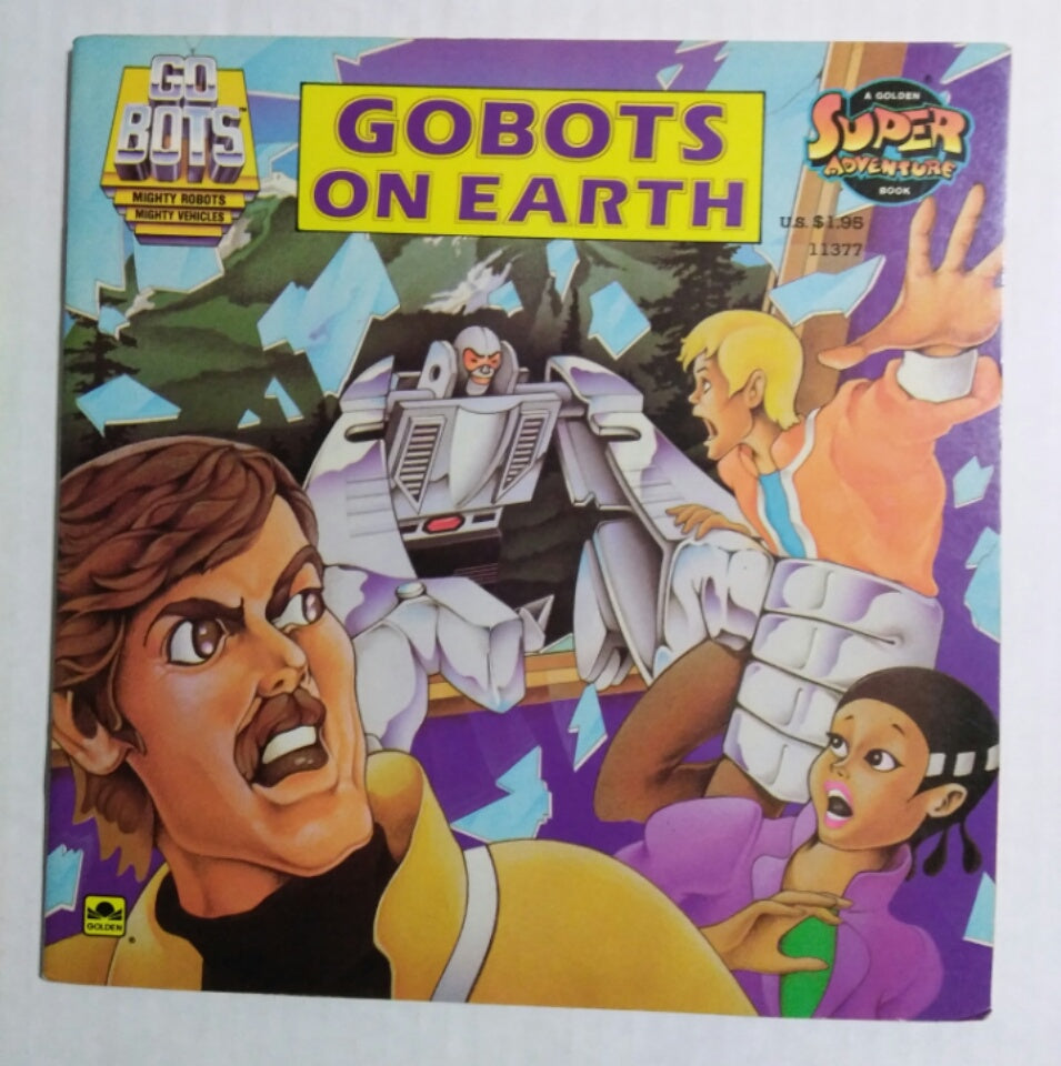 GoBots On Earth Book-We Got Character
