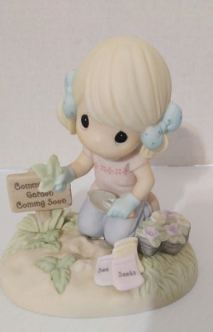 Sow Much To Do Precious Moments Figurine-We Got Character