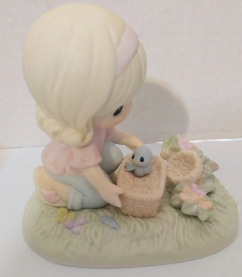 It Only Takes A Moment To Show You Care Precious Moments Figurine-We Got Character