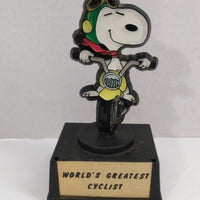 Snoopy Aviva Trophy Worlds Greatest Cyclist-We Got Character