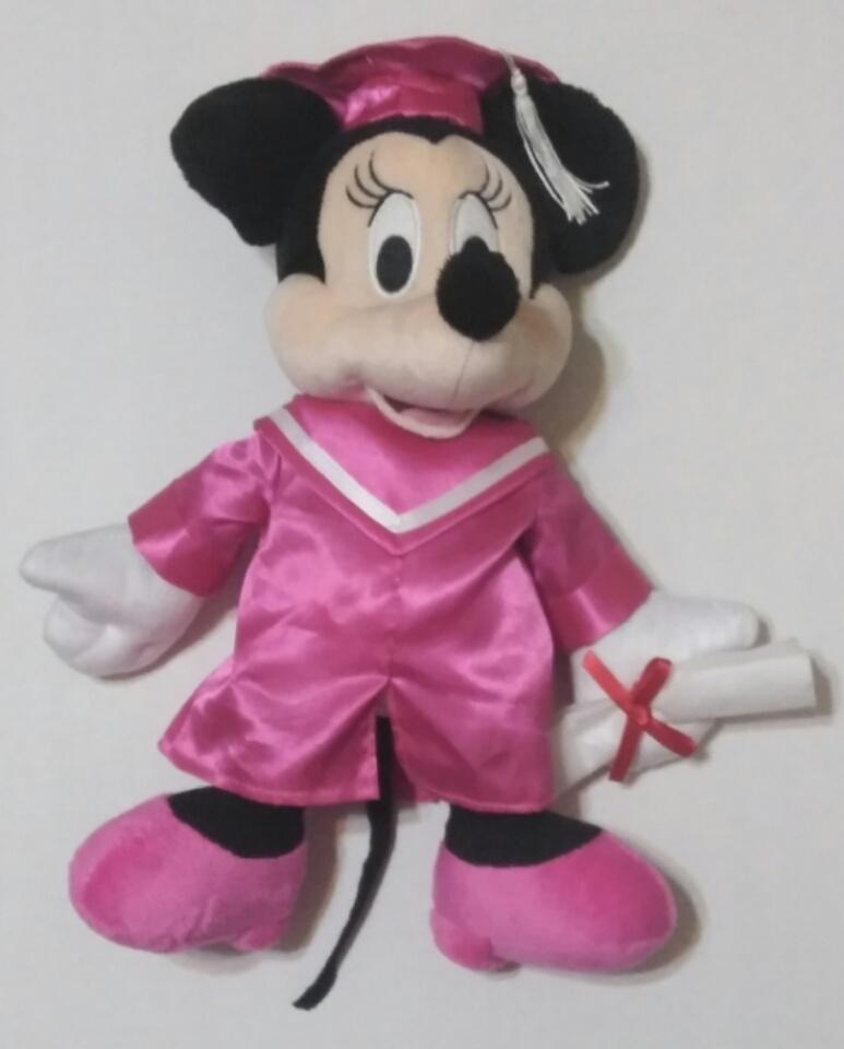 Minnie Mouse Graduation Plush-We Got Character