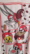 Kansas City Chiefs Looney Tunes Beach Towel-We Got Character