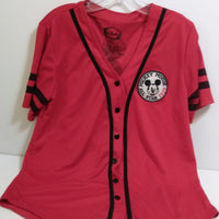 Mickey Mouse Red Baseball Jersey Shirt-We Got Character