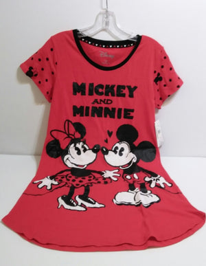 Red Mickey & Minnie Nightgown-We Got Character