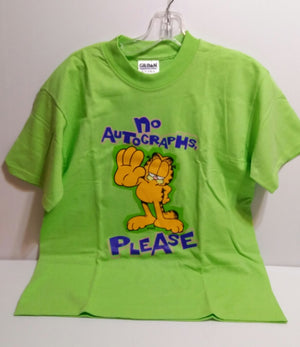 Garfield T-Shirt No Autographs Please-We Got Character
