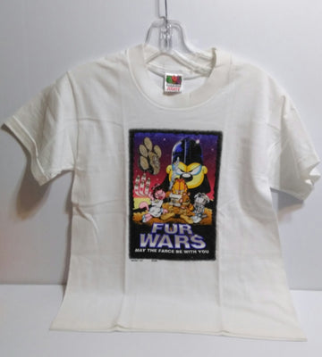 Garfield Fur Wars T-shirt-We Got Character