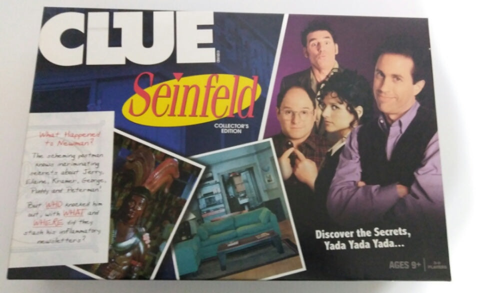 Clue Seinfeld Collector's Edition Board Game - We Got Character
