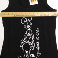 Garfield and Odie Black Tank Top