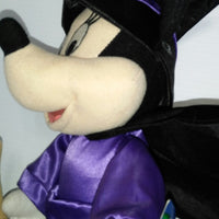 Minnie Mouse Halloween Witch Plush