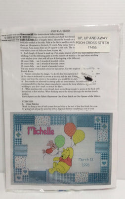 Up Up and Away Winnie the Pooh  Cross Stitch 17455- We Got Character