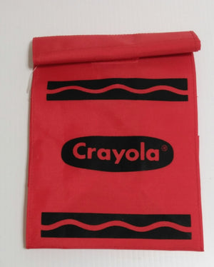 Red Crayola Crayon Lunch Bag Fun Tote