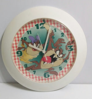 Tasmanian Devil Kitchen Clock - We Got Character