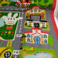 Mickey Mouse Town Playset Rug