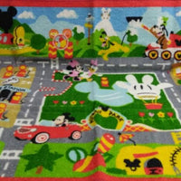 Mickey Mouse Town Playset Rug- We Got Character