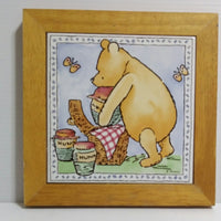 Winnie the Pooh Tile Plaque Trivet Wall Picture-We Got Character