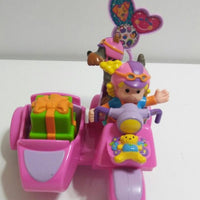 Fisher Price Little People Sarah Lynn and Her Scooter-We Got Character