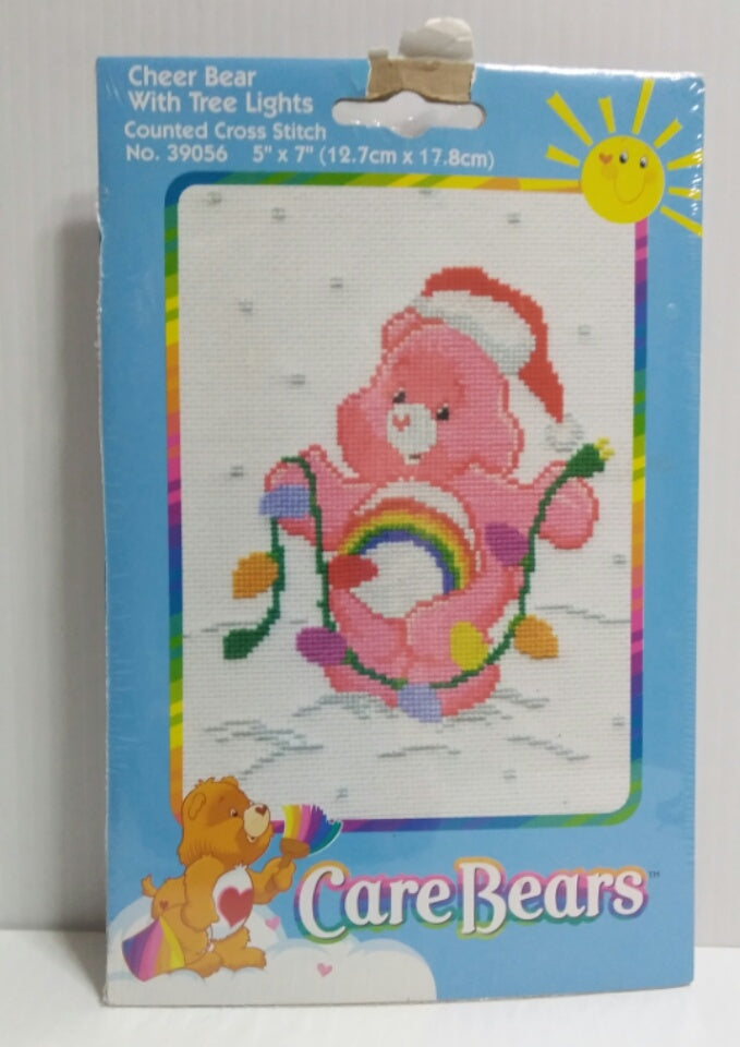 Care Bears Counted Cross Stitch Kit Cheer Bear- We Got Character