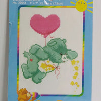 Care Bears Counted Cross Stitch Kit Wish Bear- We Got Character