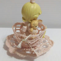 Precious Moments Tea Cup Loving Figurine