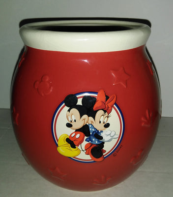 Disney Mickey & Minnie Jar Pot