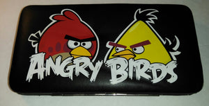 Angry Birds Clutch Purse Wallet-We Got Character