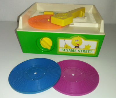 Sesame Street Record Player - We Got Character