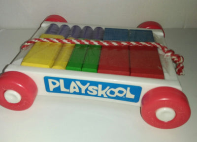 Playskool Wagon and Blocks-We Got Character