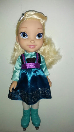 Disney Frozen Toddler Doll - Elsa w/ Ice Skates-We Got Character