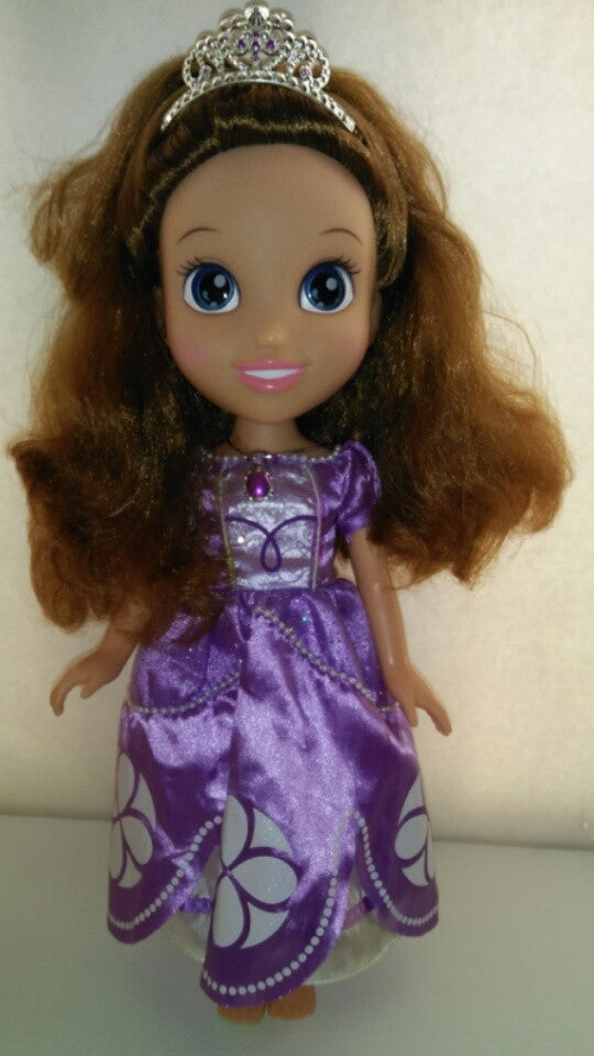 "Disney Junior Sophia the First 14"" Princess Doll-We Got Character"
