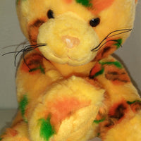 BABW Orange Pumpkin Cat Build a Bear Halloween Kitten-We Got Character
