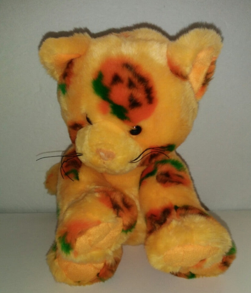 BABW Orange Pumpkin Cat Build a Bear Halloween Kitten - We Got Character