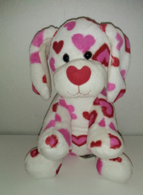 BABW White Valentine Love Puppy-We Got Character