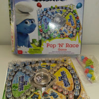 The Smurfs Pop 'N' Race Game by Pressman-We Got Character