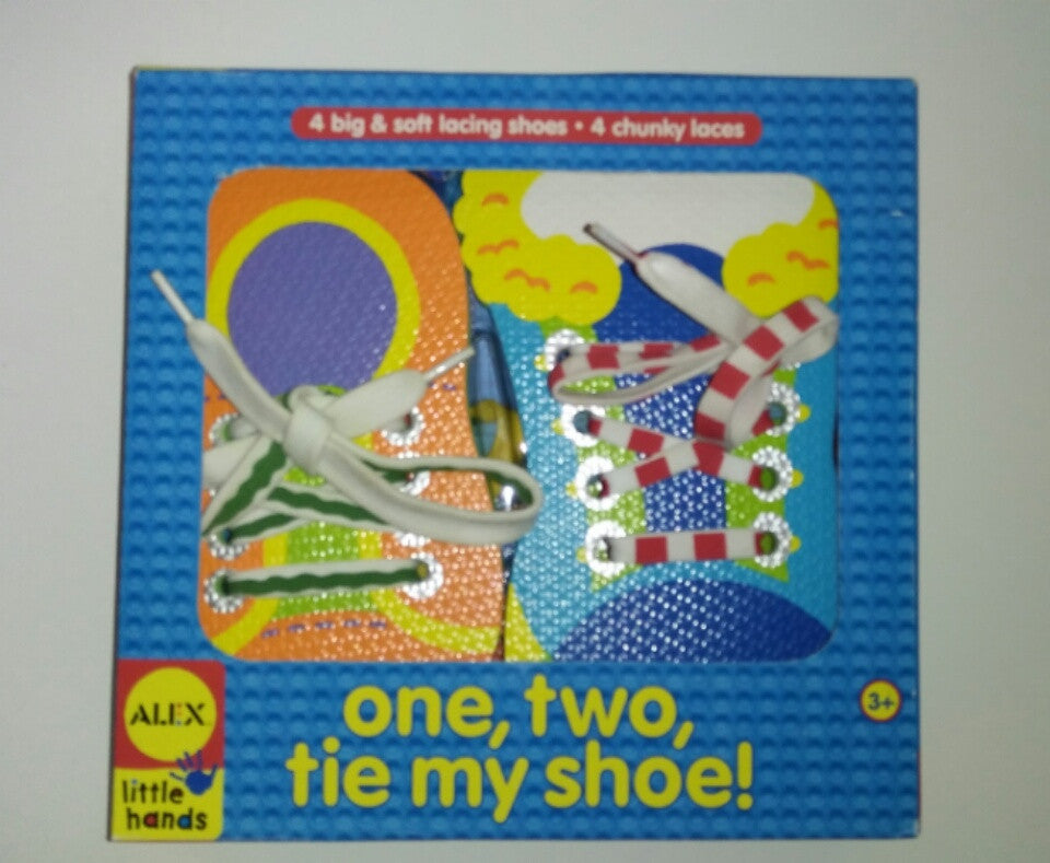 One Two Tie My Shoe Alex Toys - We Got Character