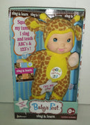 Baby First Sing & Learn Doll - We Got Character