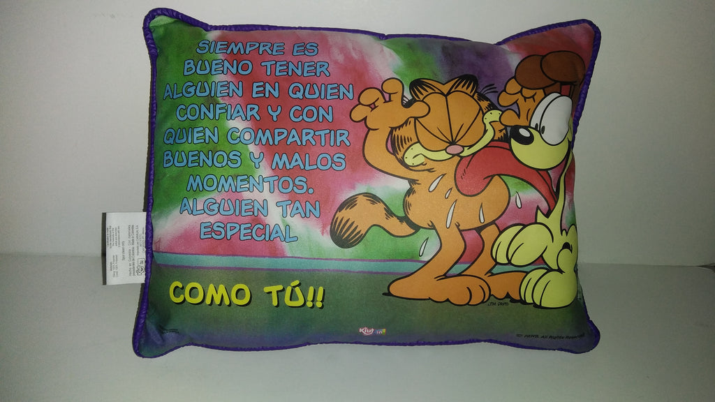 Garfield Odie Pillow-We Got Character