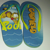 Garfield Flip Flops It's Cool In The Pool-We Got Character