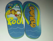 Garfield Flip Flops It's Cool In The Pool - We Got Character