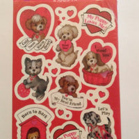 American Greetings Valentine Stickers-We Got Character