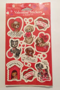 American Greetings Valentine Stickers - We Got Character