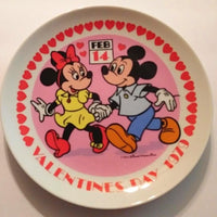 Disney Valentine Decorative Plate-We Got Character