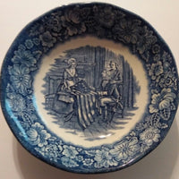 Staffordshire Liberty Blue Betsy Ross Bowl-We Got Character