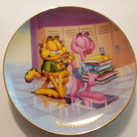 Garfield Decorative Calendar Plate September-We Got Character