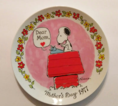 Snoopy Decorative Plate-We Got Character