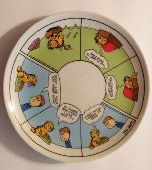 Garfield Decorative Plate by United Feature Syndicate-We Got Character