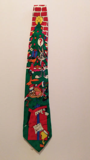 Looney Tunes Christmas Tie-We Got Character