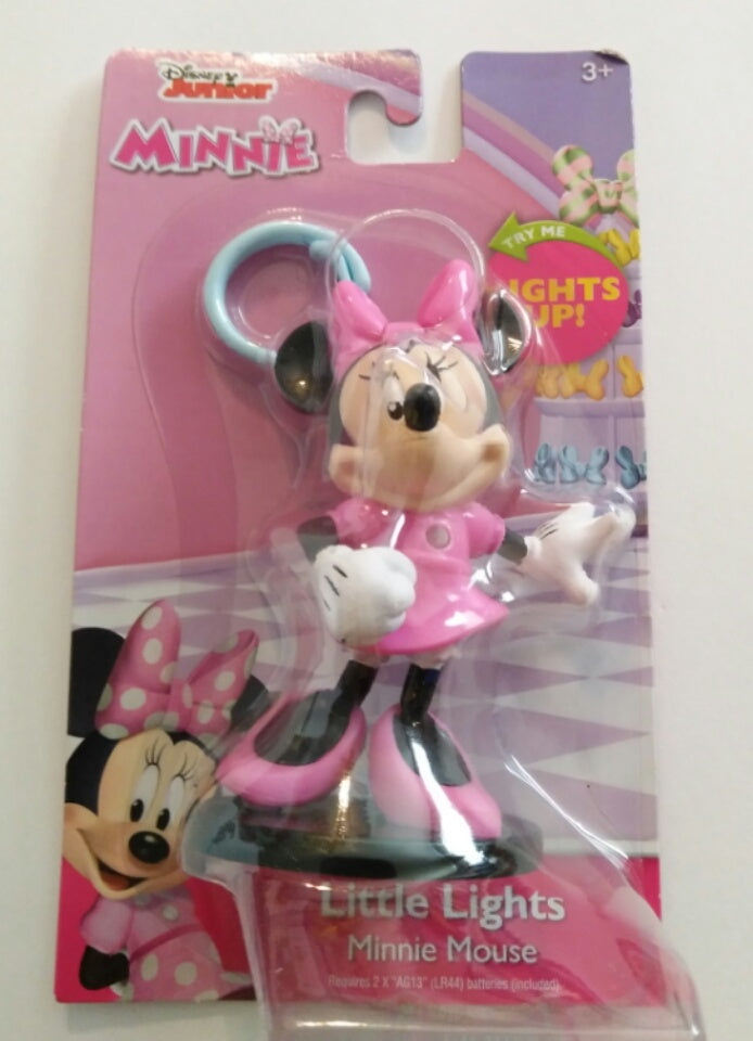 Disney Junior Minnie Mouse Little Lights with Clip-on Hook - We Got Character