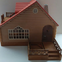 Epoch Calico Critters  Log Cabin House - We Got Character