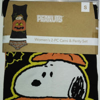 Women's 2 - PC Cami & Panty Set Snoopy Halloween-We Got Character